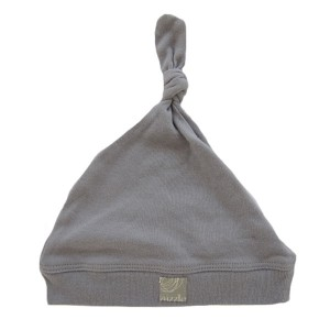 MIZZLE GREY KNOTTED HAT