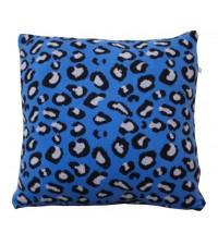 KIDFOLK LEOPARD CUSHION - BLUE