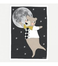 SEVENTY TREE MOON BEAR PRINT