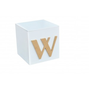 """""""INITIAL"""" 15CM GIFT/TOY BOX"""