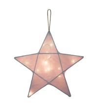 NUMERO 74 STAR LANTERN, DUSTY PINK (PRE ORDER) SMALL
