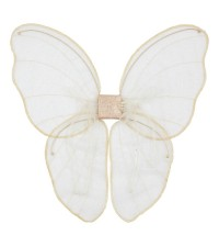 LIMITED EDITION NUMERO 74 FAIRY WINGS, WHITE AND GOLD GLITTER (PRE ORDER)