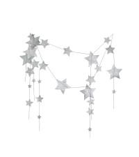 NUMERO 74 FALLING STAR GARLAND Y, SILVER (PRE ORDER)