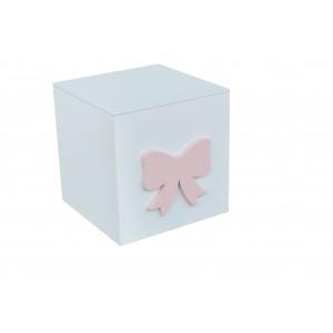 """BOW BOX"" 15CM GIFT/TOY BOX"
