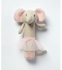 NANA HUCHY EMME ELEPHANT BABY RATTLE