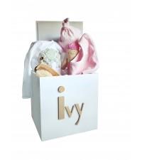 LARGE 35CM BABY GIRLS GIFT BOX