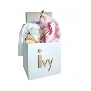 Baby girlsbaby giftsbaby boxestoy boxesnurserygiftsgift ideas large 35cm baby girls gift box negle Gallery