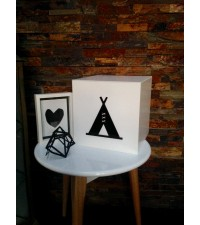 'PICTURE GIFT/TOY BOXES, TEEPEE, NEW DESIGN